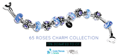 Joseph Nogucci is donating 15% of all sales of the 65 Roses Collection to CF Canada.