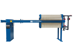 New filter press hydraulic design for sizes 470mm, 630mm, 800mm, 1000mm, and 1200mm