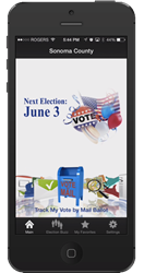 Sonoma County Elections iPhone App