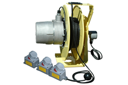 EPLRT3-100-HR Explosion Proof Reel with Tool Tap