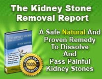 Kidney Stone Removal Report Review | How To Treat Kidney Stones Qickly And Naturally