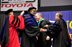 Dr. Rufus Glasper Receives Honorary Degree from NAU