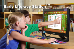 computers for children, early literacy station, AWE, ELS, public library computer for kids