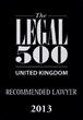 Legal 500 Recommended Solicitors