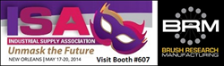 Visit BRM at ISA 2014 | Booth #607