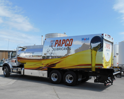 New PAPCO Lube Truck
