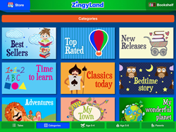 Zingyland categories