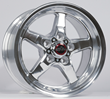 Racestar Drag Star Polished Wheel