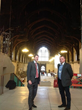 Pre installation meeting to discuss remote monitoring system at Westminster Hall