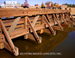 Timber Pedestrian Bridge - York Bridge Concepts™