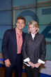 Dr. Mehmet Oz and Martha Stewart