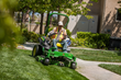 Stay Green's addition of propane-powered mowers is just one of the company's sustainability initiatives that are designed to reduce its carbon footprint.