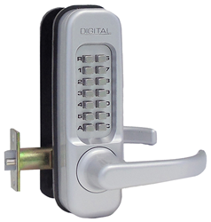 Lockey 1150 Heavy-Duty Keyless Lever Lock
