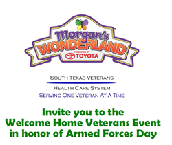 The Welcome Home Veterans Event is this Saturday May 17th