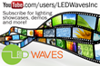 LED Waves Inc. Launches Video Showcases of LED Lights