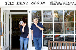 Gabrielle Carbone & Matthew Errico, proprietors of The Bent Spoon, are nationally recognized for their commitment to authentically sourced and produced ingredients, as well as their contributions to the U.S. artisan ice cream movement.