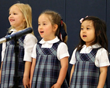 Words of gratitude for mom were captured and delivered in song at Everest Academy.