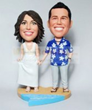 BEACH WEDDING BOBBLEHEADS BW63