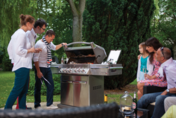 Make your grill the crowning jewel of your backyard living space