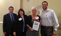 Warady & Davis LLP accepts 'Best Places to Work in Illinois 2014' Award