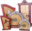 eFairies.com the Leading E-commerce Store for Fairy Products, Announces the Availability of Wood Fairy Doors and Windows Hand-Crafted by a Local Artisan