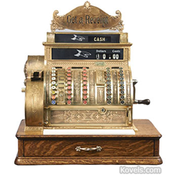 kovels, antiques, collectibles, cash register, top 10, top 20