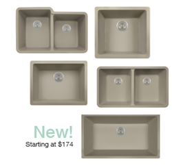 New Slate TruGranite Sinks