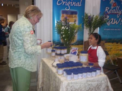 child entreprenuer honey exhibitor Green Festival Washington DC