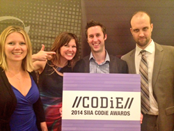Global eTraining with their SIIA CODiE award