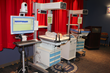 Neuro NICU equipment is dispalyed at an open house at the Loma Linda University Children's Hospital.