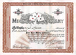 Four Aces Mining Company 1906 - Bullfrog, Nevada - Classic Four Aces Vignette