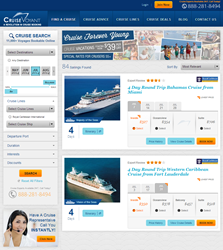 Online Cruise Booking