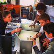 International Interns working on Social Media Marketing Initiatives