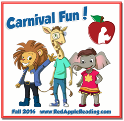 Carnival Fun! New Preschool Level at Red Apple Reading