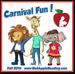 Carnival Fun! New Preschool Level at Red Apple Reading