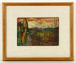 Romare Bearden (1911-1988), multi media cactus, collage