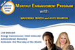 Join Monthly Enhancement Program For An All-Round Progress And...
