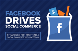 Facebook Drives Social Commerce - ShopSocially Infographic
