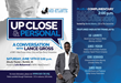 Up Close & Personal:  A Conversation with Lance Gross