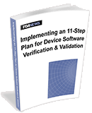 Device Software Validation and Verification