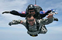 Military Skydive