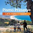 SeaCrest OceanFront Hotel Invites You to Support the Pismo Preserve Project