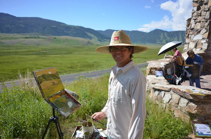 Jackson Hole Plein Air Fest At National Museum Of Wildlife