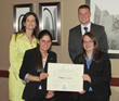 Bryant University Wins IARFC 2014 Financial Plan Competition