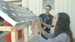 Clean Energy and Fuel Intensive Course at West Generation Academy builds solar cell phone charger as a final project.