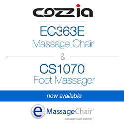 Cozzia ec363e massage chair cs1070 foot massager