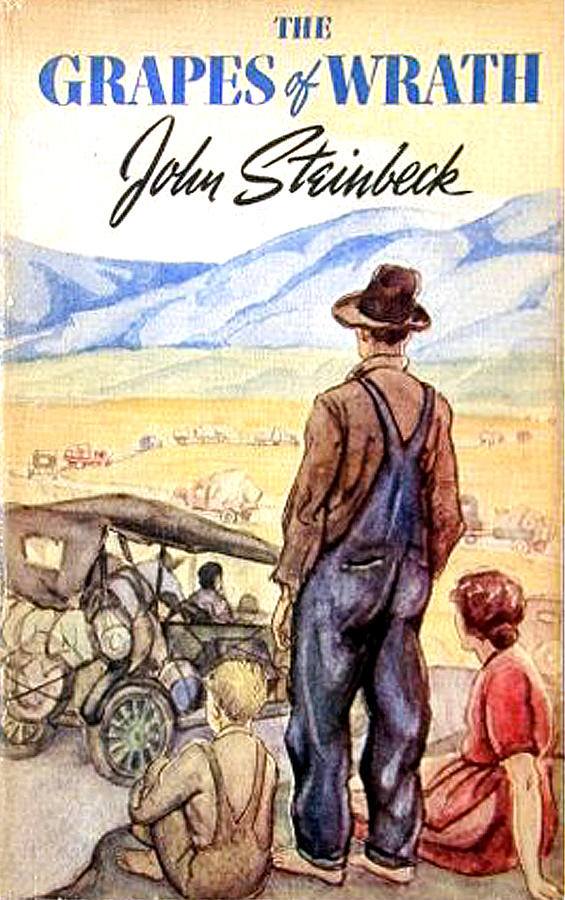steinbeck grapes of wrath The grapes of wrath has 613376 ratings and 14296 reviews malcolm  first  published in 1939, steinbeck's pulitzer prize-winning epic of the great  depression.