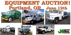 Portland Oregon Public Auction used bucket trucks for sale