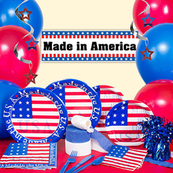 Shindigz offers military discount for American party decoration