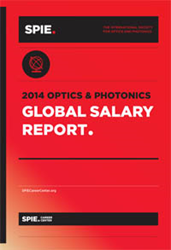 Results from the SPIE 2014 Optics and Photonics Global Salary Report show that team success is a top factor in the definition of career success among workers in the industry.